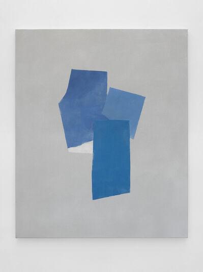 Peter Joseph, 'Three Blues and a White', 2018