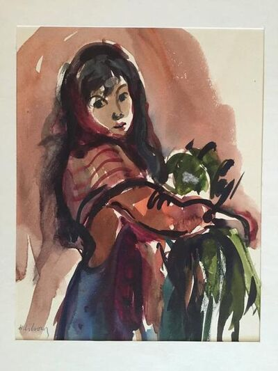 Katherine Librowicz, 'Women with Parrot on Arm', 20th Century