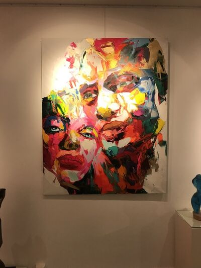 Françoise Nielly, 'PARIS', 2015-2017