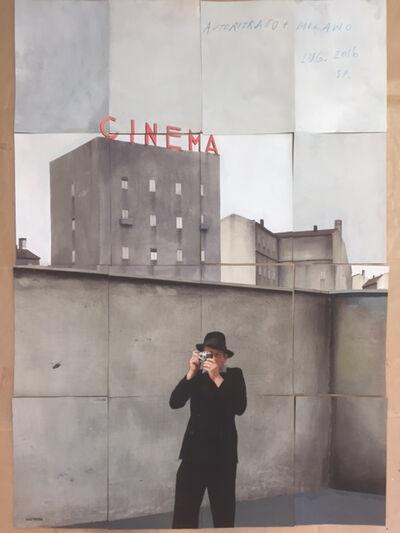 Paolo Ventura, 'Autoritrato, Milano', 2016
