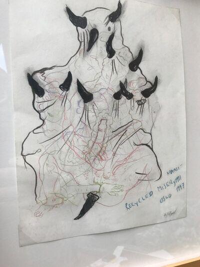 Bjarne Melgaard, 'Maasi - Recycled Misery', 1997