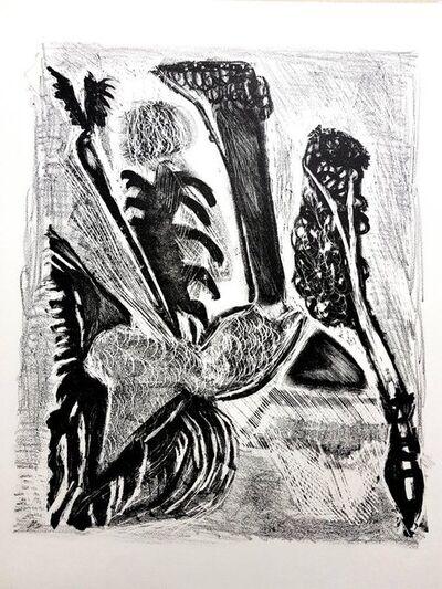 "Jean-Michel Atlan, 'Original Lithograph ""Kafka II"" by Jean-Michel Atlan', 1946"