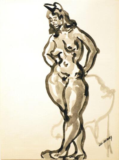 Joseph Delaney, 'Untitled (Nude)'