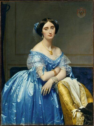 Jean-Auguste-Dominique Ingres, 'Joséphine-Éléonore-Marie-Pauline de Galard de Brassac de Béarn (1825–1860), Princesse de Broglie', 1851–1853