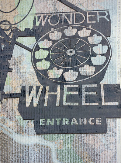William Steiger, 'Wonderwheel Entrance', 2020