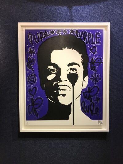Pure Evil, 'Prince - Purple Rain - Hand Embellished', 2020