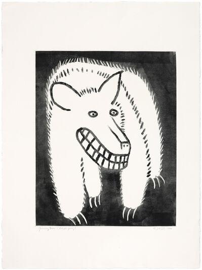 Judy Kensley McKie, 'Grinning Bear', 1988