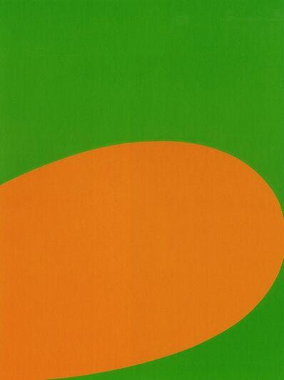 Ellsworth Kelly, 'Orange Green', 1964