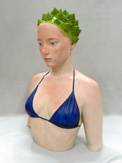 "Gerard Mas, '""Lady of the broccoli""', 2015"