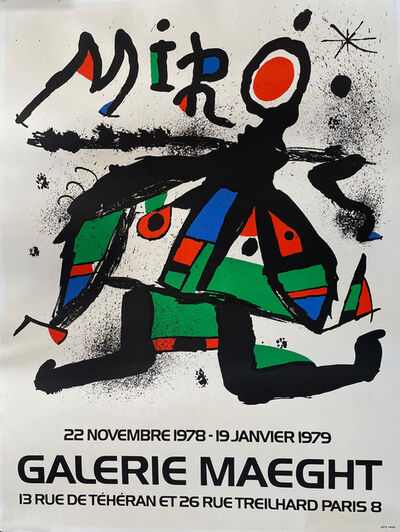 Joan Miró, 'Miro Exhibition Galerie Maeght', 1978