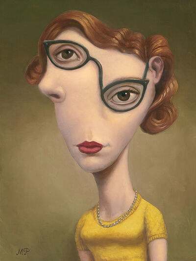 Marion Peck, 'Girl With Cat Eye Glasses', 2018