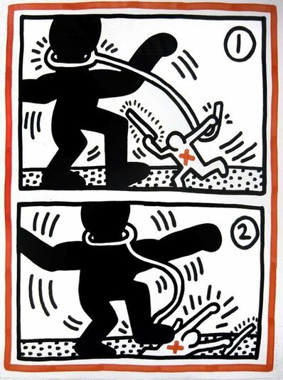 Keith Haring, 'Untitled #3, from Free South Africa', 1985
