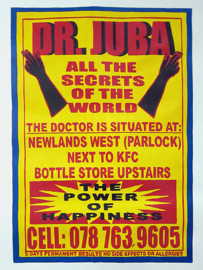 Cameron Platter, 'Dr. Juba', 2012