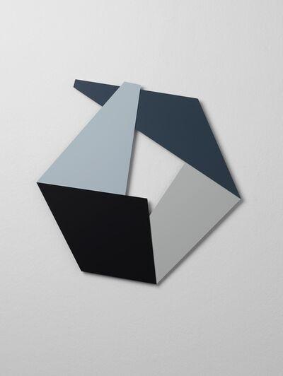 Katja Strunz, 'Cour Carré Black Size E', 2014