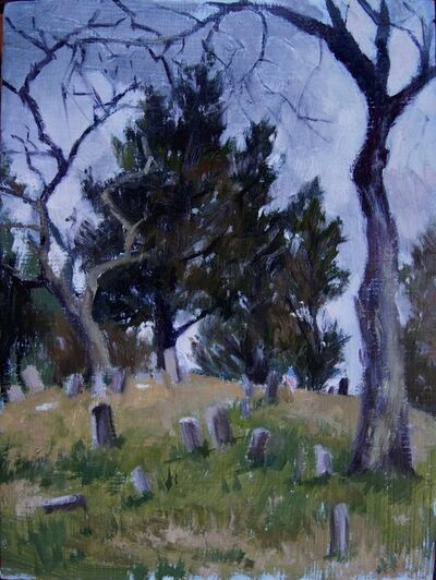 Megan Euell, 'The Old Whalers Cemetery', 2018