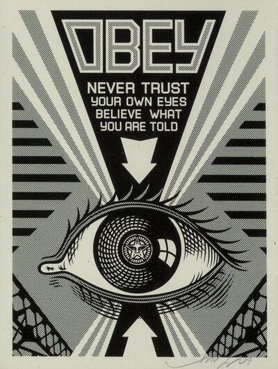Shepard Fairey, 'Obey Eye (Black)', 2009