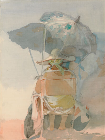 David Levine, 'Untitled (Beach Umbrella)', 1970