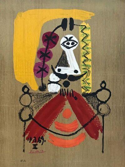 Pablo Picasso, ''Portrait Imaginair' 14-3-69II', 1969