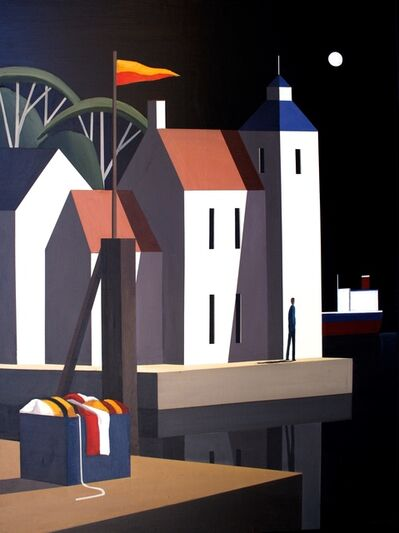Andy Wooldrdidge, 'Night on Harbour Wharf', 2017
