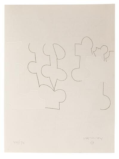 Eduardo Chillida, 'Emile M. Cioran: Ce maudit moi IV', 1983