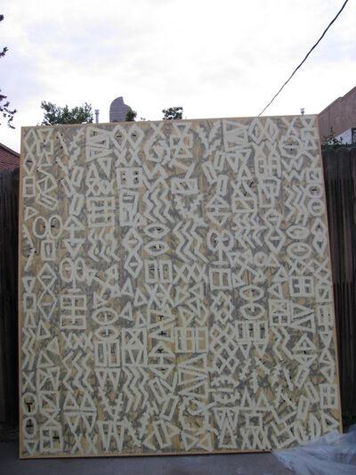 Roland Bernier, 'Big Yellow Graffiti Series', 1990