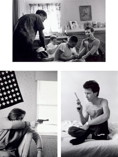 Larry Clark, 'Three works: (i-ii) Untitled; (iii) Dead 1970'
