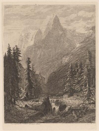 Alexandre Calame, 'Mountain Meadow', 1840