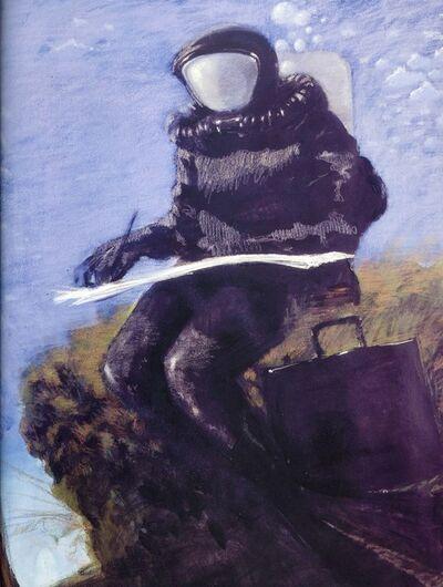 Julio Larraz, 'Poet of the Depths', 2008