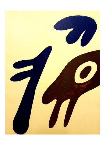 "Jean Arp, 'Original Lithograph ""Monster"" by Jean Arp', 1962"