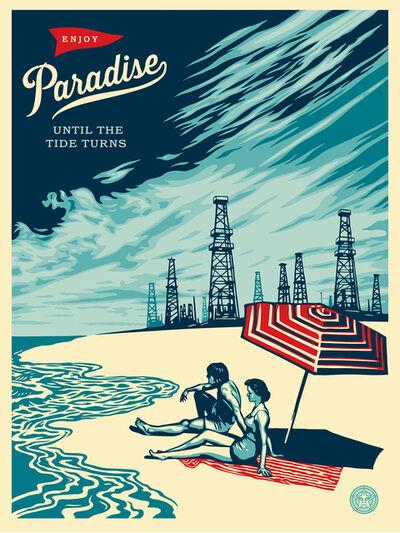 Shepard Fairey, 'Paradise turns'