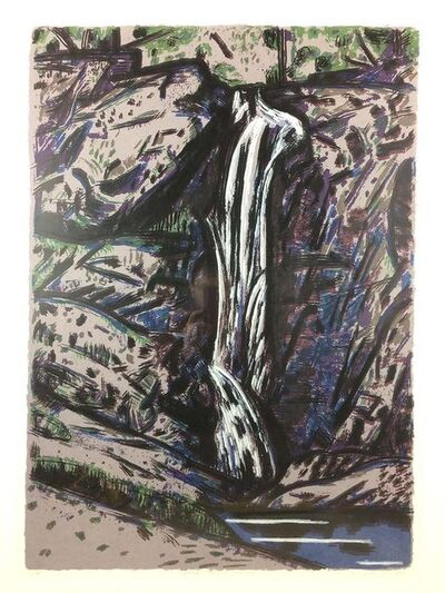 Jeffrey Makin, 'Cedar Creek Falls', 1988