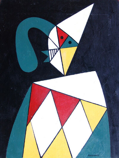 George Gordienko, 'Clown with a Long Nose', ca. 1995