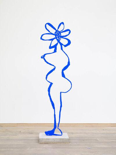 Annie Morris, 'Ultramarine Blue Pigment Flower Head', 2018