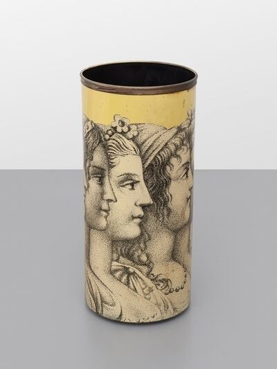 Piero Fornasetti, 'Profiles of woman' umbrella holder.'