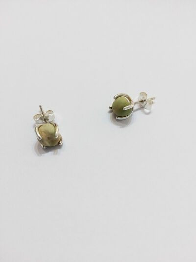 Anna-Sophie Berger, 'Pea Earrings', 2015