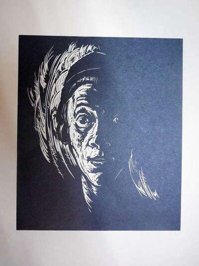 Arthur Kolnik, 'Shtetl Visage. Portrait', 1930-1939