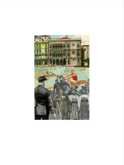 Peter Blake, 'Venice - 'Single Sculls'', 2009