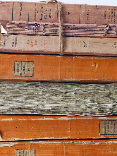 Simon Brown, 'Orange Bound Books', 2014