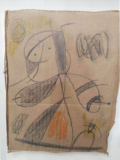 Joan Miró, ' Femme, oiseau', 1979