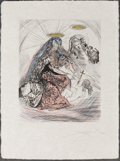 Salvador Dalí, 'Saint Anne', 1965
