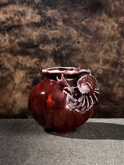 Pierre Adrien Dalpayrat, 'Red Crab Vase', ca. 1893