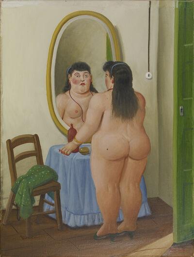 Fernando Botero, 'La Toilette', 1999