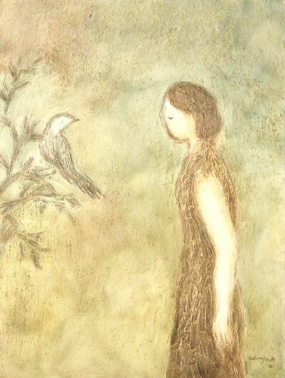 Wonsook Kim, 'Nightingale Cry', 2012