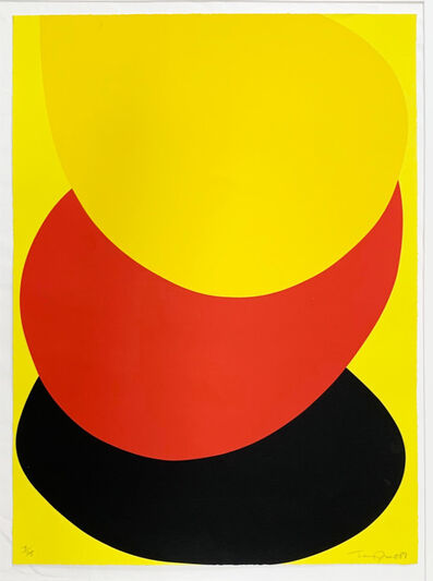 Sir Terry Frost, 'Suspended Red, Yellow and Black', 1987