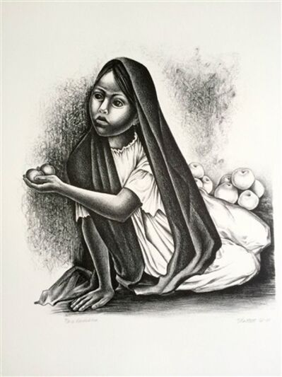 Elizabeth Catlett, 'Vendedora', 1969-2001