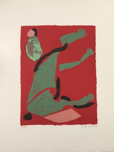 Marino Marini, 'XXe Siecle no 35', 1970