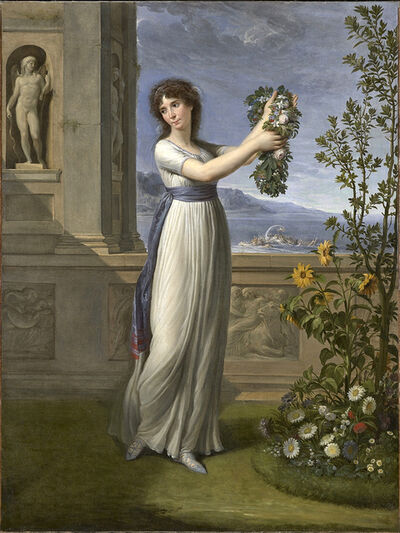 Andrea Appiani, 'Josephine Bonaparte Crowning the Myrtle Tree', 1796