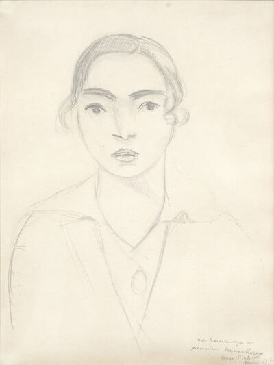 Henri Matisse, 'Madame Monchaux', 1916