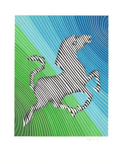 Victor Vasarely, 'Zebra No. 2 (II)', 1980-1990