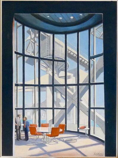 Richard Haas, 'Hong Kong Bank by Norman Foster', 1993